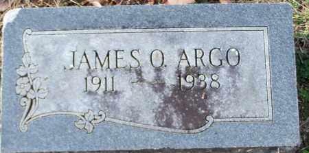 ARGO, JAMES O. - Logan County, Arkansas | JAMES O. ARGO - Arkansas Gravestone Photos