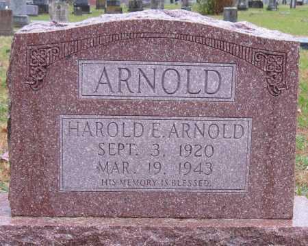 ARNOLD, HAROLD E - Logan County, Arkansas | HAROLD E ARNOLD - Arkansas Gravestone Photos