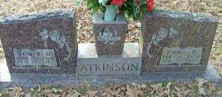ATKINSON, EMMA A - Logan County, Arkansas | EMMA A ATKINSON - Arkansas Gravestone Photos