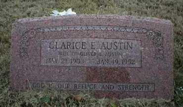 AUSTIN, CLARICE E - Logan County, Arkansas   CLARICE E AUSTIN - Arkansas Gravestone Photos