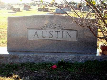 ERVIN AUSTIN, ELLA - Logan County, Arkansas | ELLA ERVIN AUSTIN - Arkansas Gravestone Photos