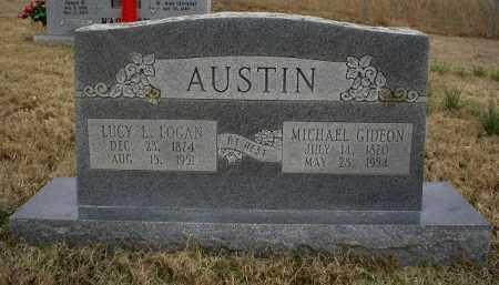 AUSTIN, MICHAEL GIDEON - Logan County, Arkansas | MICHAEL GIDEON AUSTIN - Arkansas Gravestone Photos