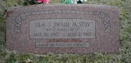 AUSTIN, OLA J - Logan County, Arkansas | OLA J AUSTIN - Arkansas Gravestone Photos