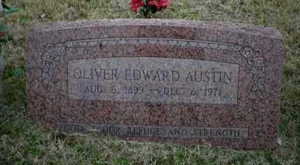 AUSTIN, OLIVER EDWARD - Logan County, Arkansas   OLIVER EDWARD AUSTIN - Arkansas Gravestone Photos