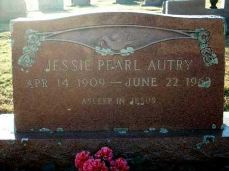 AUTRY, JESSIE PEARL - Logan County, Arkansas | JESSIE PEARL AUTRY - Arkansas Gravestone Photos