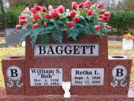BAGGETT, RETHA L - Logan County, Arkansas | RETHA L BAGGETT - Arkansas Gravestone Photos
