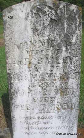 WALKER BAILEY, MINNIE H - Logan County, Arkansas | MINNIE H WALKER BAILEY - Arkansas Gravestone Photos