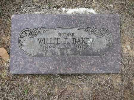 SANDERS BAKER, WILLIE - Logan County, Arkansas | WILLIE SANDERS BAKER - Arkansas Gravestone Photos