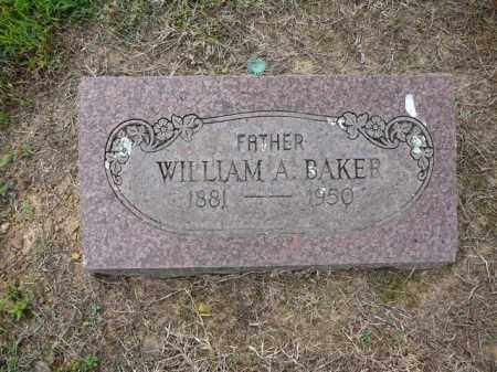 BAKER, WILLIAM - Logan County, Arkansas | WILLIAM BAKER - Arkansas Gravestone Photos