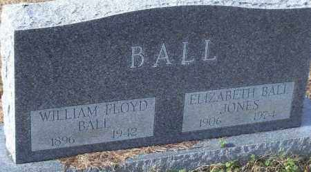 BALL, ELIZABETH - Logan County, Arkansas | ELIZABETH BALL - Arkansas Gravestone Photos