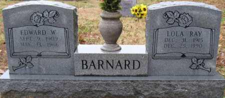 BARNARD, EDWARD W - Logan County, Arkansas | EDWARD W BARNARD - Arkansas Gravestone Photos