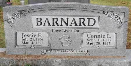 BARNARD, JESSIE E - Logan County, Arkansas | JESSIE E BARNARD - Arkansas Gravestone Photos