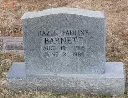 BARNETT, HAZEL PAULINE - Logan County, Arkansas   HAZEL PAULINE BARNETT - Arkansas Gravestone Photos