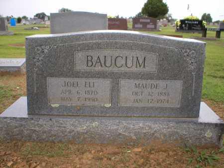 BAUCUM, MAUDE J - Logan County, Arkansas | MAUDE J BAUCUM - Arkansas Gravestone Photos