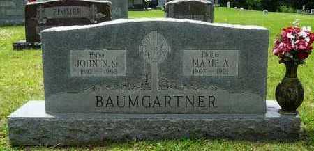 BAUMGARTNER, JOHN - Logan County, Arkansas | JOHN BAUMGARTNER - Arkansas Gravestone Photos