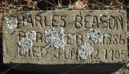 BEASON, CHARLES - Logan County, Arkansas   CHARLES BEASON - Arkansas Gravestone Photos