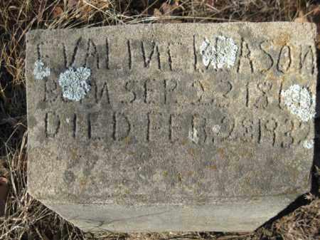 BEASON, EVALINE - Logan County, Arkansas   EVALINE BEASON - Arkansas Gravestone Photos