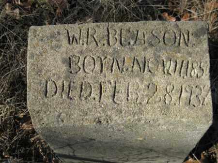 BEASON, W R - Logan County, Arkansas | W R BEASON - Arkansas Gravestone Photos