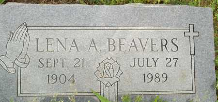 BEAVERS, LENA A. - Logan County, Arkansas | LENA A. BEAVERS - Arkansas Gravestone Photos