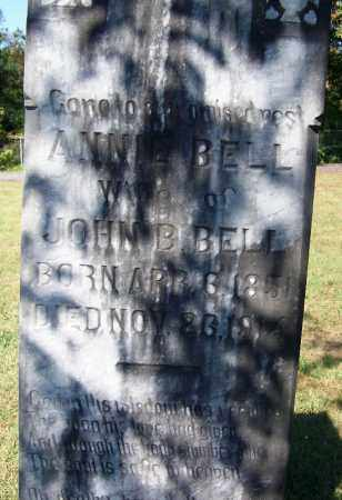 BELL, ANNIE - Logan County, Arkansas | ANNIE BELL - Arkansas Gravestone Photos