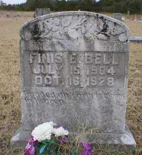 BELL, FINIS E - Logan County, Arkansas | FINIS E BELL - Arkansas Gravestone Photos