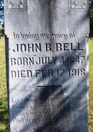 BELL, JOHN B - Logan County, Arkansas | JOHN B BELL - Arkansas Gravestone Photos