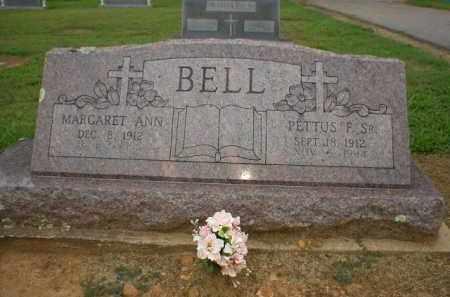 BELL, MARGARET - Logan County, Arkansas   MARGARET BELL - Arkansas Gravestone Photos