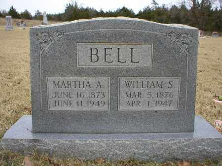 BELL, MARTHA A - Logan County, Arkansas | MARTHA A BELL - Arkansas Gravestone Photos