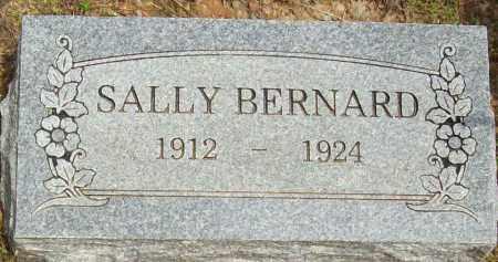 BERNARD, SALLY - Logan County, Arkansas | SALLY BERNARD - Arkansas Gravestone Photos