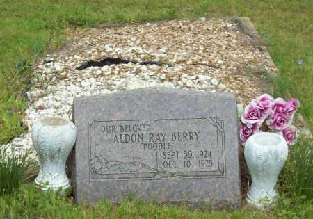 "BERRY, ALDON RAY ""POODLE"" - Logan County, Arkansas   ALDON RAY ""POODLE"" BERRY - Arkansas Gravestone Photos"