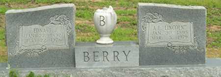 "BERRY, A.L. ""LINCOLN"" - Logan County, Arkansas | A.L. ""LINCOLN"" BERRY - Arkansas Gravestone Photos"