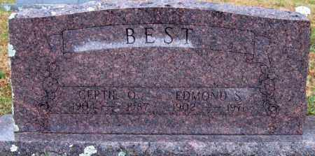 BEST, GERTIE O. - Logan County, Arkansas | GERTIE O. BEST - Arkansas Gravestone Photos