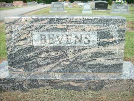 BEVENS, ORA L. - Logan County, Arkansas | ORA L. BEVENS - Arkansas Gravestone Photos