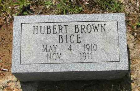 BICE, HERBERT BROWN - Logan County, Arkansas | HERBERT BROWN BICE - Arkansas Gravestone Photos
