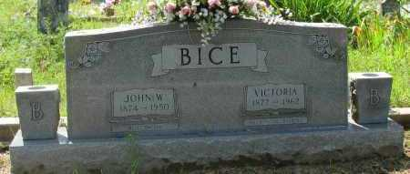 BICE, VICTORIA - Logan County, Arkansas | VICTORIA BICE - Arkansas Gravestone Photos