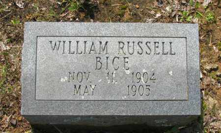 BICE, WILLIAM RUSSELL - Logan County, Arkansas | WILLIAM RUSSELL BICE - Arkansas Gravestone Photos