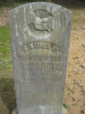BLACKWELL, LAURA F - Logan County, Arkansas | LAURA F BLACKWELL - Arkansas Gravestone Photos