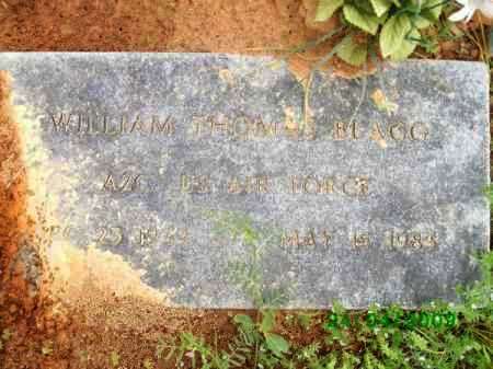 BLAGG (VETERAN), WILLIAM THOMAS - Logan County, Arkansas | WILLIAM THOMAS BLAGG (VETERAN) - Arkansas Gravestone Photos