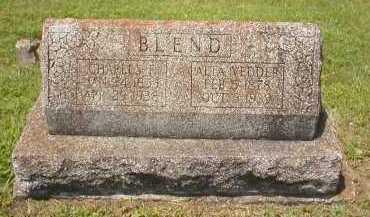 BLEND, CHARLES I - Logan County, Arkansas | CHARLES I BLEND - Arkansas Gravestone Photos