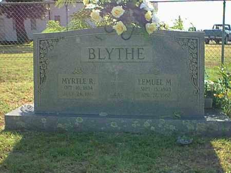BLYTHE, LEMUEL M. - Logan County, Arkansas | LEMUEL M. BLYTHE - Arkansas Gravestone Photos