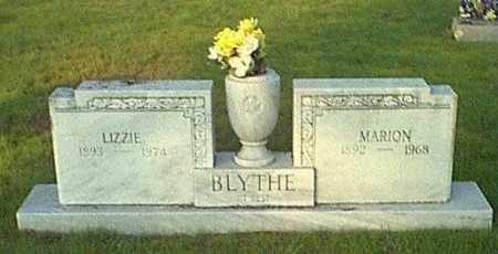BLYTHE, MARION - Logan County, Arkansas | MARION BLYTHE - Arkansas Gravestone Photos