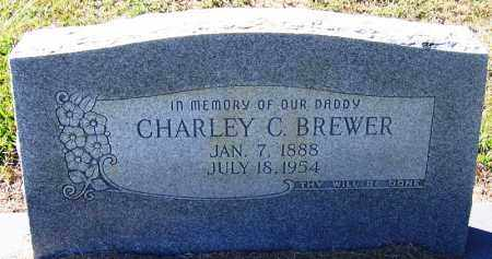 BREWER, CHARLEY C - Logan County, Arkansas | CHARLEY C BREWER - Arkansas Gravestone Photos