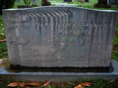 BREWER (VETERAN WWII KIA), JAMES BENNETT - Logan County, Arkansas | JAMES BENNETT BREWER (VETERAN WWII KIA) - Arkansas Gravestone Photos