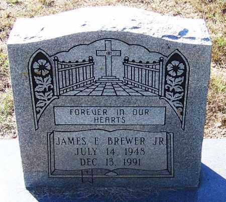 BREWER, JR., JAMES E - Logan County, Arkansas | JAMES E BREWER, JR. - Arkansas Gravestone Photos