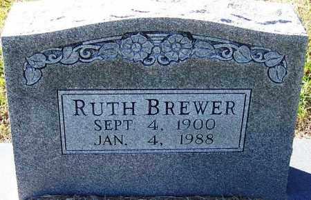 BREWER, RUTH - Logan County, Arkansas | RUTH BREWER - Arkansas Gravestone Photos