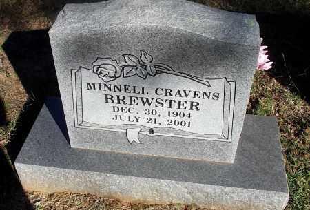 CRAVENS BREWSTER, IDA MINNELL - Logan County, Arkansas | IDA MINNELL CRAVENS BREWSTER - Arkansas Gravestone Photos