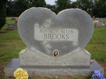 BROOKS, KENNETH ALLEN - Logan County, Arkansas | KENNETH ALLEN BROOKS - Arkansas Gravestone Photos