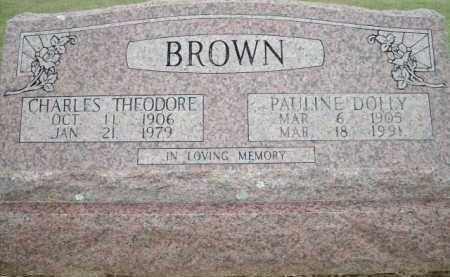 BROWN, PAULINE DOLLY - Logan County, Arkansas   PAULINE DOLLY BROWN - Arkansas Gravestone Photos