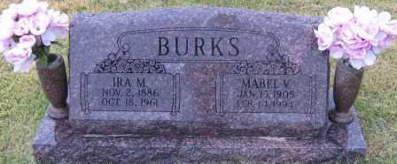BURKS, IRA M. - Logan County, Arkansas | IRA M. BURKS - Arkansas Gravestone Photos