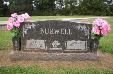 BURWELL, SUSIE K. - Logan County, Arkansas   SUSIE K. BURWELL - Arkansas Gravestone Photos
